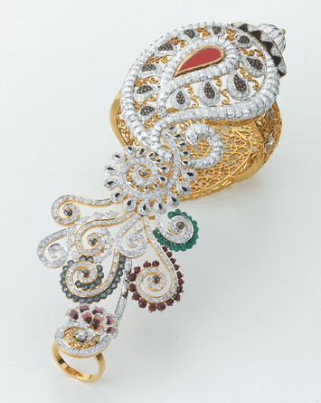 Jewellers choice design awards Mumbai India Indian jewellery