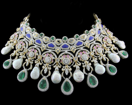 Diamond Necklace Designs Images With Price