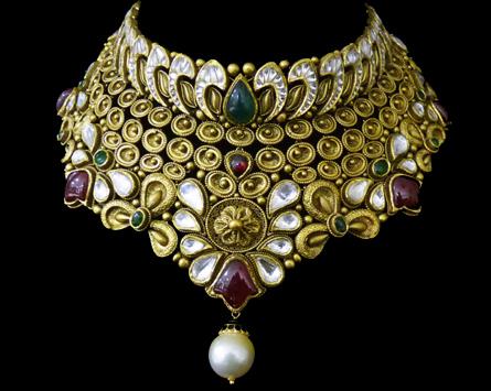 Kundan Ring Design